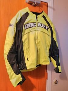 JOE ROCKET JACKET WITH ARMOUR SIZE L WORN ONLY 2 TIMES