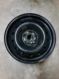 """Volkswagen 16"""" Steel Rims"""