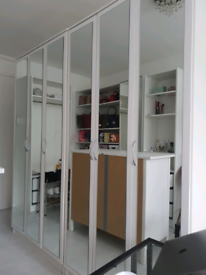 Argos 3 Door Mirrored Wardrobe