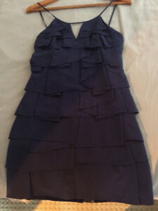 Blue cocktail/party BCBG Max Azria dress - size 0 - $40