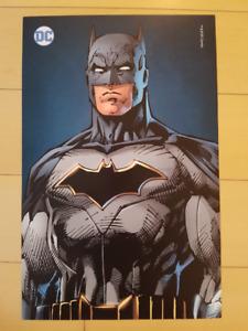 FanExpo Toronto Jim Lee Batman Print