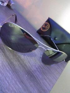 RAYBANDS platinum sunglasses, perfect condition
