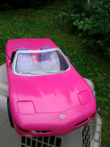 Two barbie cars!