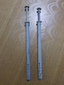 Upvc door and windows frame fixing screw