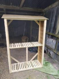 Garden / Log Store
