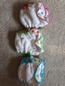 VGUC Orange Co. nb fitted diapers