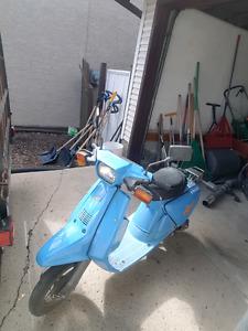 Yamaha 50cc street ready scooter