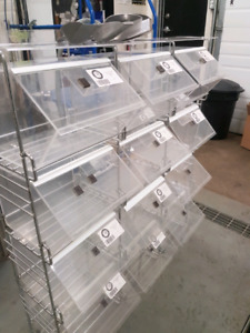 Bulk Barn Retail Bins with Stand and Scoops