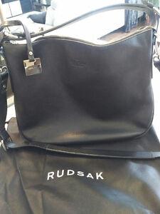 Rudsak Handbag / Totes black leather ROBYN model - sac a main