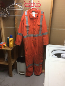 HI-Vis Arc Flash Coveralls