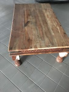 Table real solid wood,!
