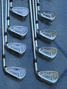 SET DE 8 FERS FORGÉS ADAMS A4 FORGED TIGES GS 75 GOLD, RÉGULIER