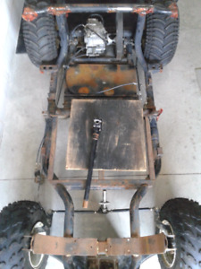 Yamaha G2 Golf Kart Chassis+Rear+Clutch / or 4x New Tires & Rims