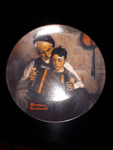 Norman Rockwell - 5 Collector Plates