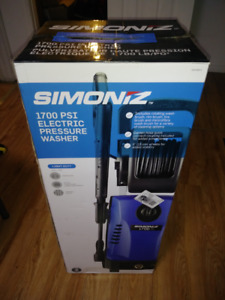 Simoniz 1700 psi Electric Pressure Washer