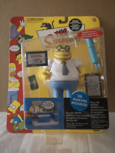 The Simpsons Playmates Dr.Marvin Monroe Serie #10