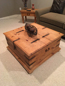 Coffee Table and 2 End Table