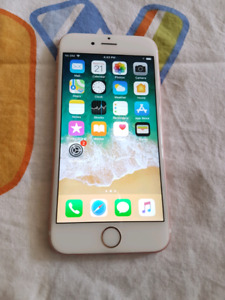 Unlocked IPhone 6S 16Gb Rose Gold Great condition
