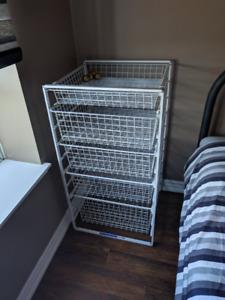 5-drawer Wire Dresser