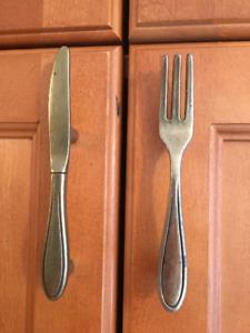 Kitchen Cabinet Handles - Cutlery