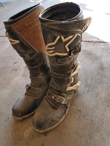 Alpinestar motocross boots