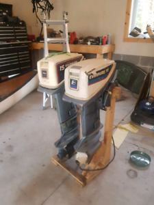 Evinrude 15hp and parts motor