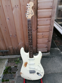 Fender Squire dave gilmour 00001 relic