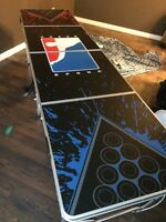 Beer pong table for sale with balls