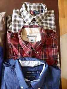 Lot de chemises médium, large et XL 5$ chacune