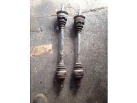 BMW e46 320d drive shafts