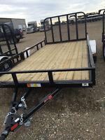 2015 PJ 14ft utility trailer