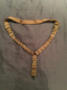 Neuf / Airsoft / One point bungee sling Cobra - coyote