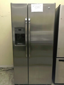Refrigerateur stainless side by side GE