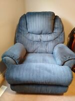 Rocker-Recliner swivels 360 degrees (St Thomas)