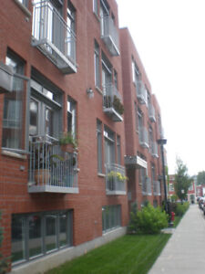 Grand Condo Canal Lachine/Marché Atwater, 2 chambres!