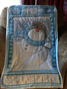 Snowman wallhanging