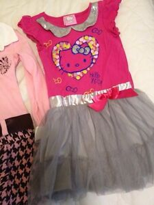 3 dresses size 3, hello kitty dress sold London Ontario image 4