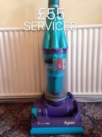 DYSON DC07 FULLY SERVICED MINT CONDITION BLUE AND PURPLE DELIVERY OPTION 2