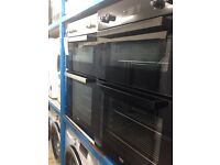 Double oven new graded 12 month gtee