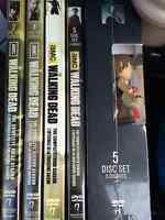 The Walking Dead Seasons 1,2,3,4 and 5 DVD