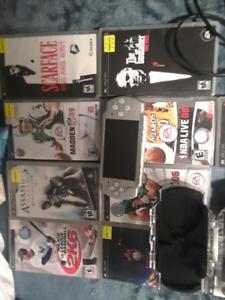 PSP, Otter Case, 11 games, charger. $105 O.B.O