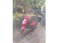 TGB DELIVERY 125cc 2012 deliveroo