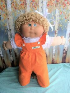 Vintage 1984 Jesmar Cabbage Patch Kid  with Original Outfit