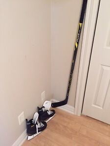 CCM tacks 1052 stick cut to about 5 feet. Used once.