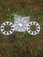 """5/16"""" wheel spacers 5x110 but will fit others (universal) $25.00"""