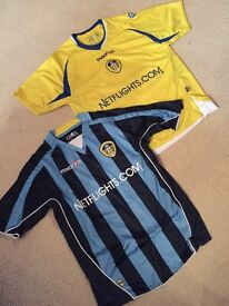 LEEDS UNITED retro shirts - boys LJ (8-10 years)