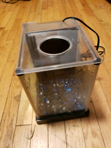 Small Fish Tank with Pump