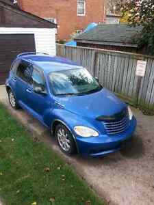 2006 Chrysler PT Cruiser grey Hatchback