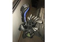 Callaway Big Bertha golf set with Odyssey 2 ball putter and Ping Si3 Driver