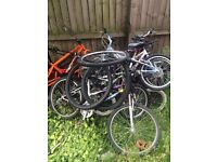 Job lot of nine bikes